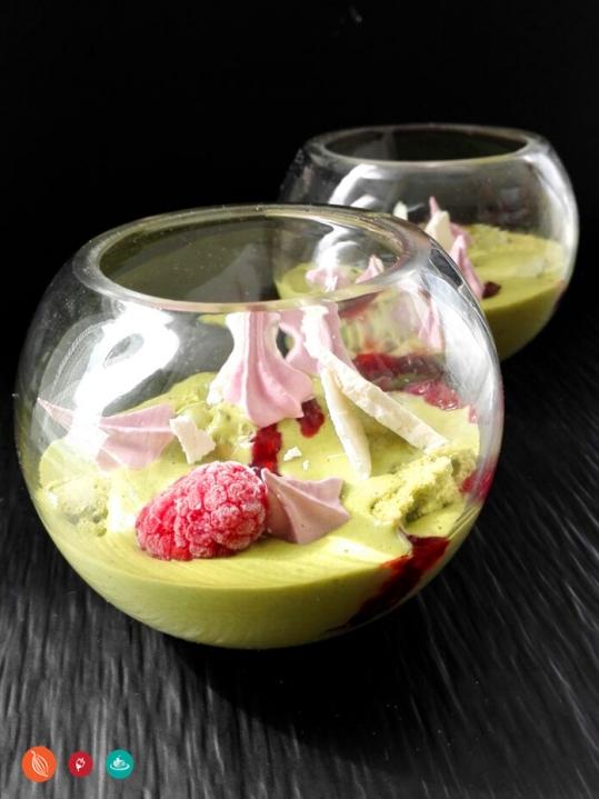 Green Tea and Raspberry